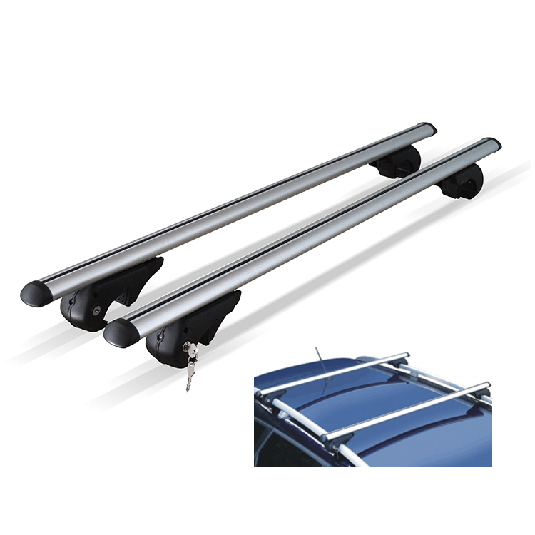 M Way Eagle Xl Universal Roof Bars For Raised Rails