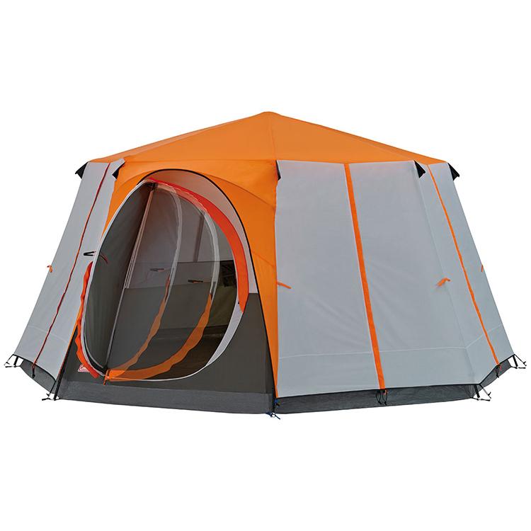 Coleman Cortes Octagon 8 Deluxe Ex Display Tent Orange