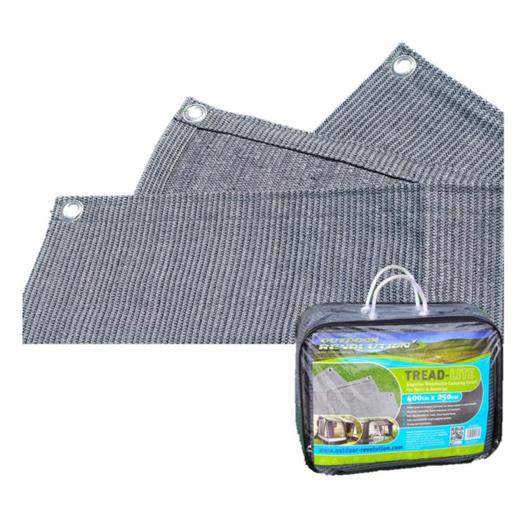 Outdoor Revolution Treadlite Breathable Groundsheet Awning Carpet ALL SIZES