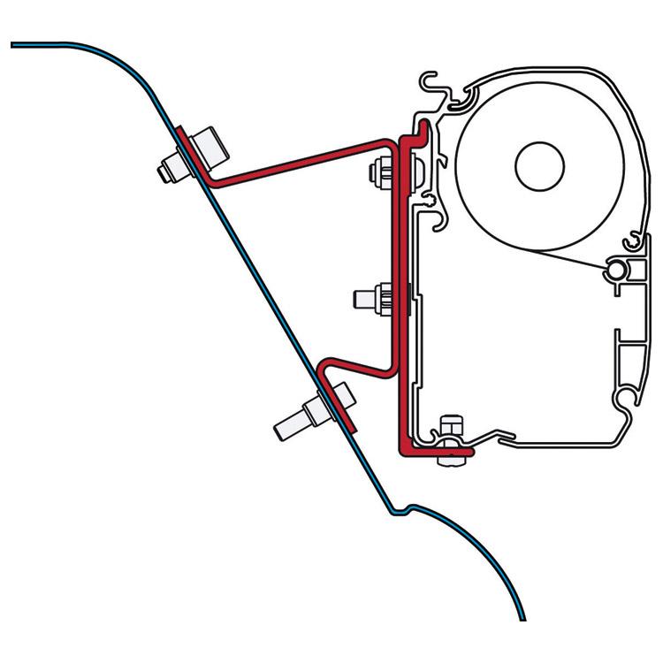 Fiamma Mercedes-Benz Sprinter, Volkswagen (VW) Westfalia