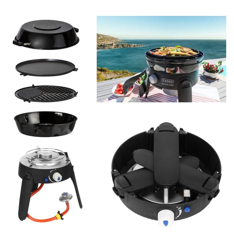 Barbecue portable Cadac Safari Chef 2 LP 30 cm