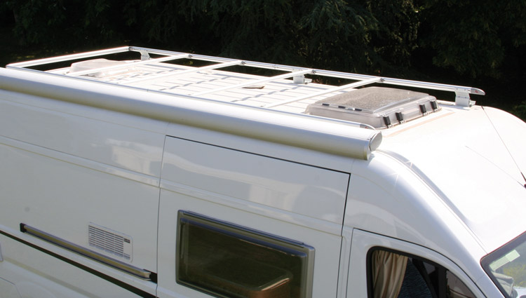 Fiamma Roof Rail Fiat Ducato Luggage Roof Bars Leisure