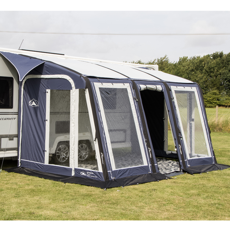 Sunncamp Ultima Air Super Deluxe Blue 390 Awning with ...