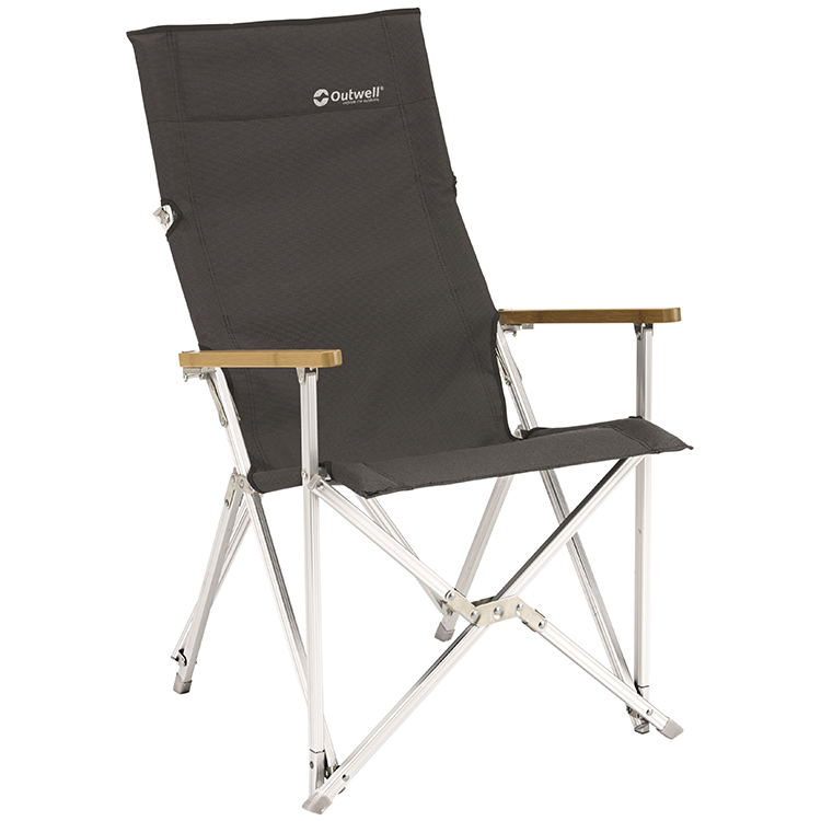 Outwell Duncan Black Bamboo Chair Leisure Outlet