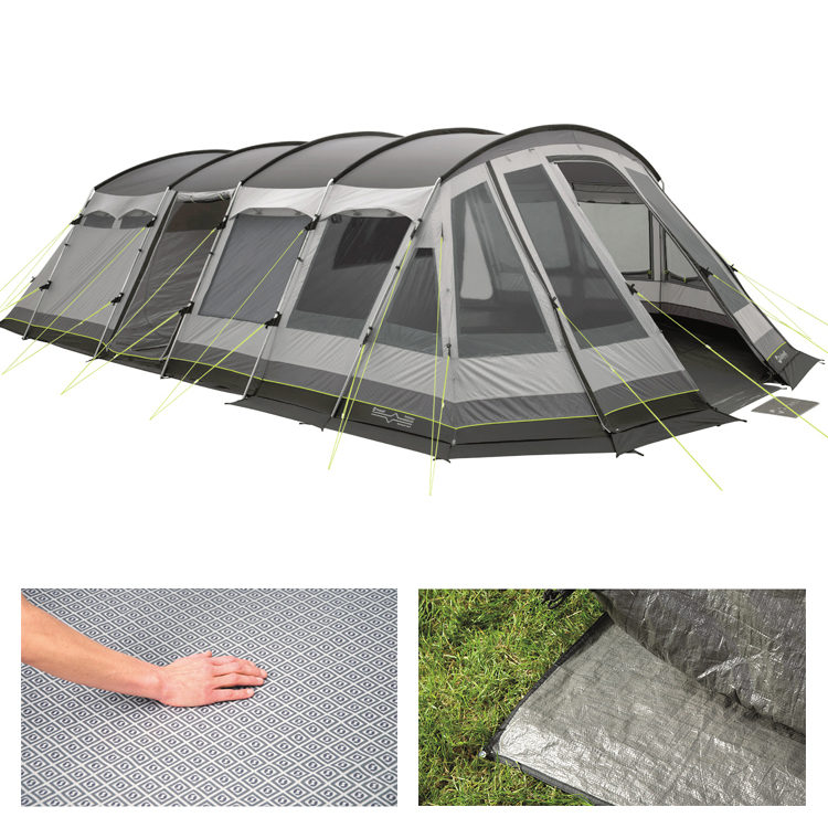 Outwell Vermont Xlp 7 Person Tunnel Tent Bundle Leisure