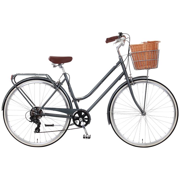 Dawes Duchess Metallic Grey Ladies Heritage Bike