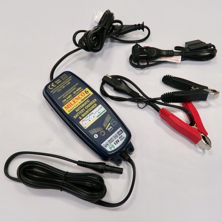 Milenco 20 By Optimate Battery Charger Maintainer Leisure Outlet