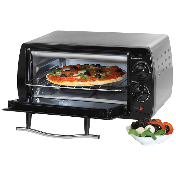 Quest Stainless Steel Mini Toaster Oven Leisure Outlet