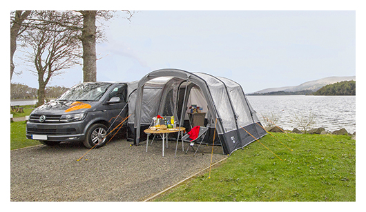Introducing The Galli II Compact RSV Right Side Of Vehicle Same Features As But In Smaller Size Makes Driveaway Awning From Vango That Much