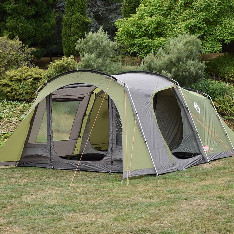 coleman da gama 4 berth poled tent