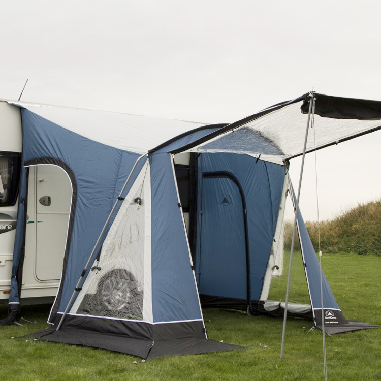 Sunncamp Swift 260 Deluxe Blue Caravan Awning | Leisure Outlet