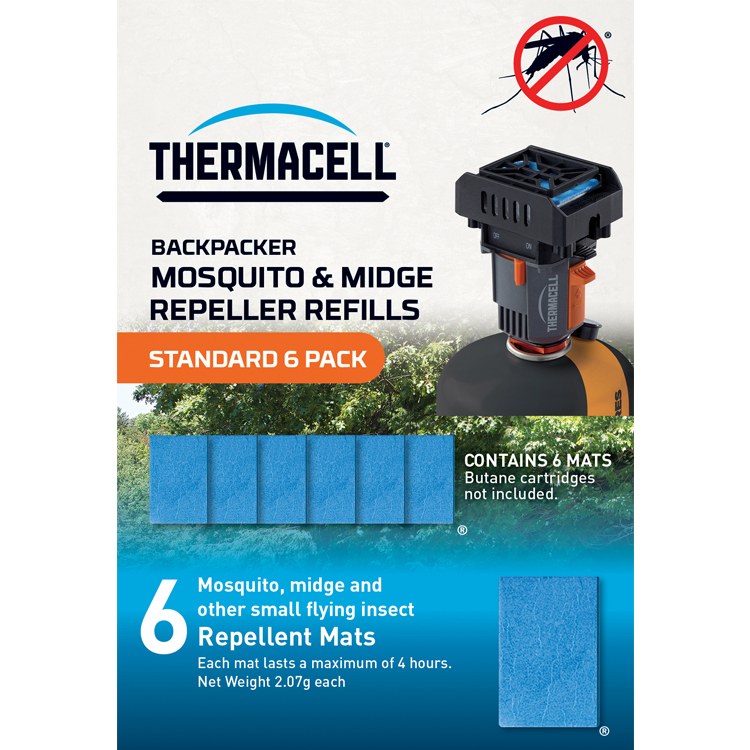 Thermacell Standard Mosquito Repellent Mat Refill Pack 6