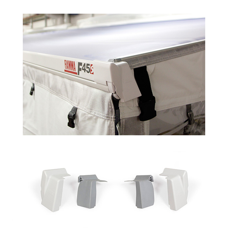 Fiamma F45L /& ZIP L Motorhome Caravan Privacy Room Awning Rain Caps 06893A01