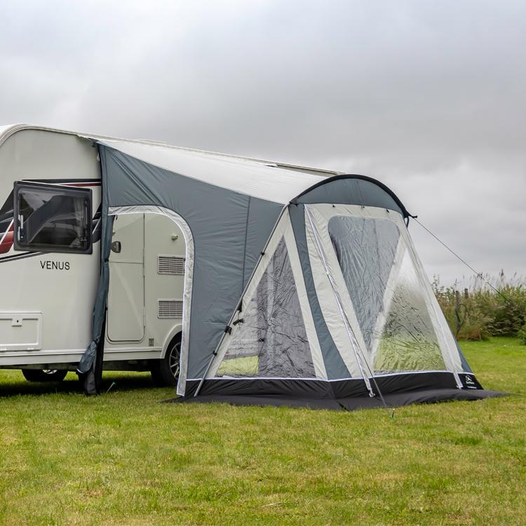 SunnCamp Swift 220 SC Caravan Porch Awning, Grey | Leisure ...