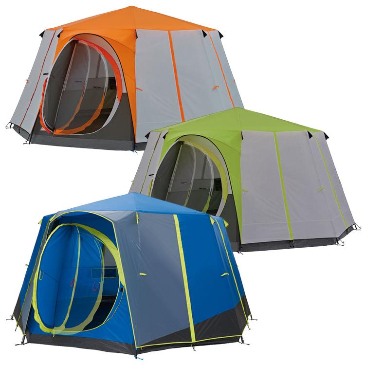 Coleman Cortes Octagon 8 Deluxe Tent Orange