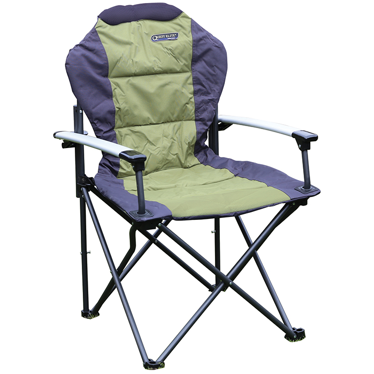 Quest Elite Deluxe Comfort Plus Folding Chair Leisure Outlet